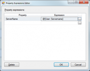 Change Server as Parameter in SSIS DTSX Package - codemiq