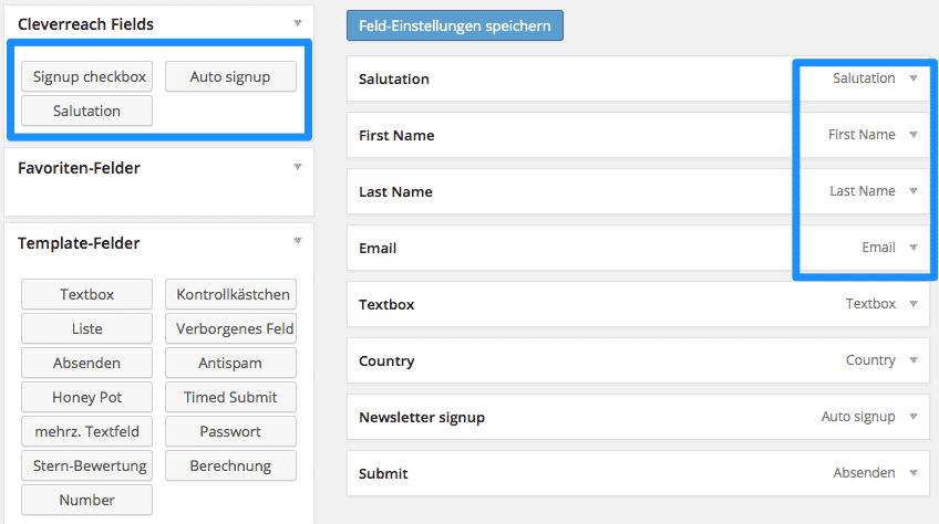 formular erstellen