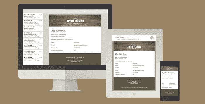 WordPress WPForms E-Mail Design Vorlagen erstellen – WP HTML Mail