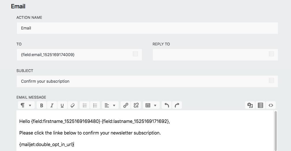 Ninja Forms Mailjet Documentation - codemiq